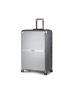 Puccini Puccini Velký tvrdý kufr PC027A 8 Stříbrná