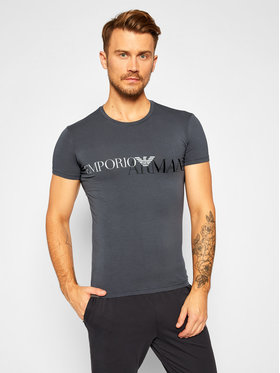Emporio Armani Underwear Emporio Armani Underwear Tricou 111035 0A516 00044 Gri Slim Fit