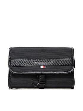 Tommy Hilfiger Tommy Hilfiger Smink táska Elevated Travel Washbag AM0AM07824 Fekete
