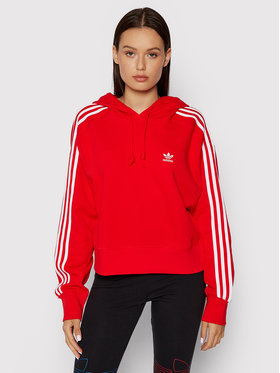 adidas adidas Sweatshirt adicolor Classics H34614 Rouge Relaxed Fit