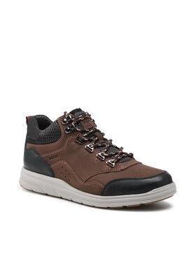 Geox Geox Šnurovacia obuv U Hallson C U165UC 03214 C6024 Hnedá