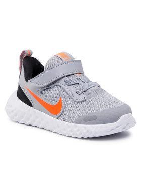 Nike Nike Buty Revolution 5 (TDV) BQ5673 007 Szary