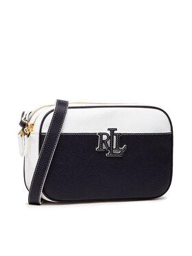 Lauren Ralph Lauren Lauren Ralph Lauren Torebka Pebbled Leather Carrie Crossbody 431837540003 Granatowy