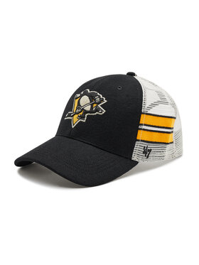 47 Brand 47 Brand Шапка с козирка Pittsburgh Penguins H-WILIS15WMP-BK Черен