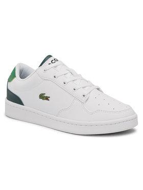 Lacoste Lacoste Sneakersy Masters Cup 0721 1 Suj 7-41SUJ00111R5 Bílá