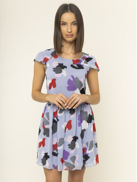 Emporio Armani Emporio Armani Ежедневна рокля 3H2A85 2NXUZ F808 Виолетов Regular Fit