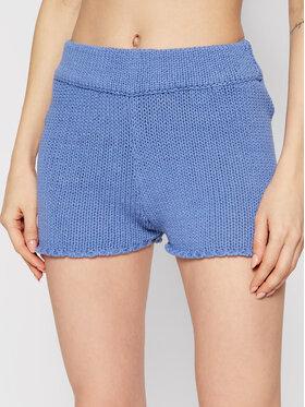 Guess Guess Pantaloncini di tessuto E1GD10 ZZ04I Blu Regular Fit