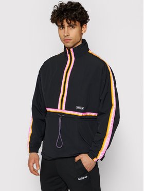 adidas adidas Anorák Taped GN3896 Fekete Regular Fit