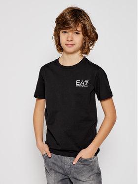 EA7 Emporio Armani EA7 Emporio Armani T-Shirt 6HBT51 BJ02Z 1200 Czarny Regular Fit