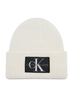 Calvin Klein Jeans Calvin Klein Jeans Čiapka Monogram Beanie Wl K50K506242 Béžová