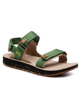 Jack Wolfskin Jack Wolfskin Sandále Outfreshy Deluxe Sandal M 4039431 Zelená
