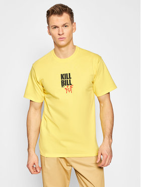 HUF HUF Póló KILL BILL Versus TS01538 Sárga Regular Fit