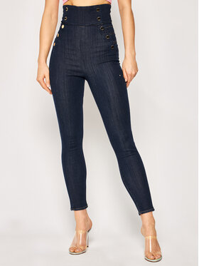 Guess Guess jeansy Skinny Fit W02A08 D32J5 Blu scuro Skinny Fit