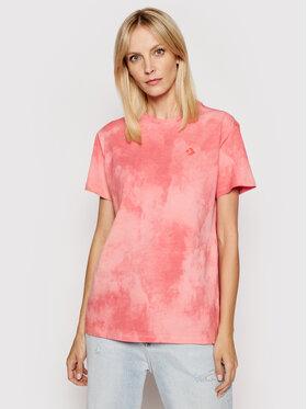 Converse Converse T-shirt Wash Effect 10021466.A03 Rosa Standard Fit
