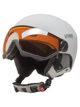 Uvex Uvex Kask narciarski Hlmt 400 Visor Style S5662151005 Biały