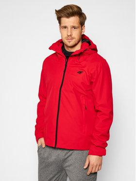 4F 4F Giacca outdoor H4L21-KUM002 Rosso Regular Fit