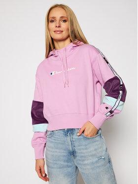 Champion Champion Bluza Hoodie 113338 Różowy Custom Fit