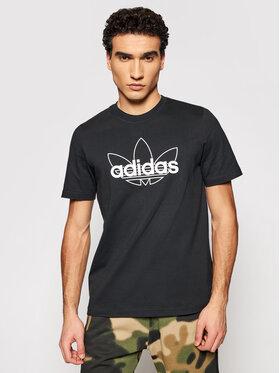 adidas adidas T-shirt Sprt Graphic T GN2440 Crna Regular Fit