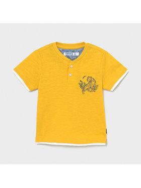 Mayoral Mayoral T-Shirt 1004 Gelb Regular Fit