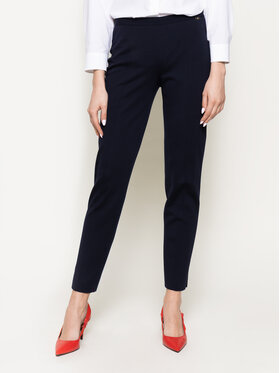 Luisa Spagnoli Luisa Spagnoli Pantaloni di tessuto Minuendo 201532620 Blu scuro Regular Fit