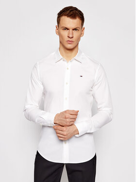 Tommy Jeans Tommy Jeans Koszula DM0DM04405 Biały Slim Fit