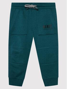 Coccodrillo Coccodrillo Teplákové kalhoty ZC1120114EVB Zelená Regular Fit