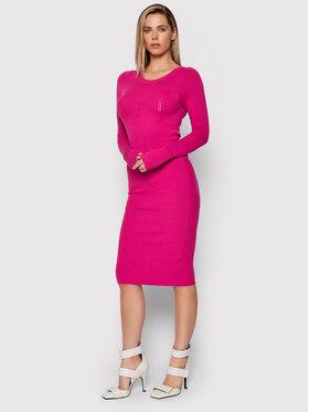 Liu Jo Liu Jo Плетена рокля CF1287 MA99E Розов Slim Fit