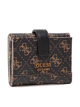 Guess Guess Малък дамски портфейл SWQB83 77380 Кафяв