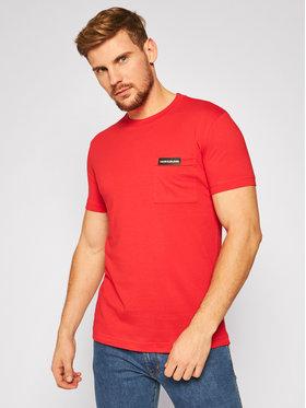 Calvin Klein Jeans Calvin Klein Jeans Póló J30J315613 Piros Regular Fit