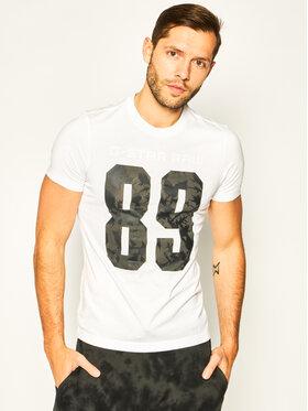 G-Star Raw G-Star Raw T-Shirt 89 Thistle D16420-336-110 Bílá Regular Fit