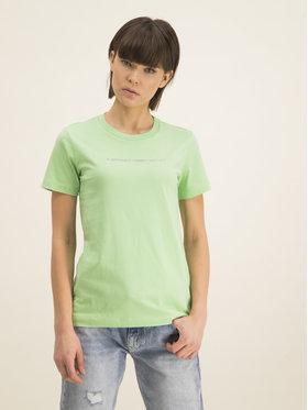 Diesel Diesel T-Shirt T-Sily-Copy T 00SBGH 0HERA Zielony Regular Fit