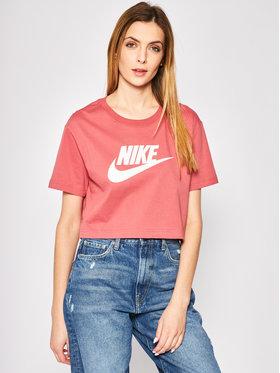 NIKE NIKE Tričko Essential BV6175 Ružová Regular Fit