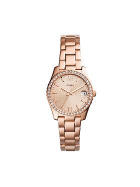 Fossil Fossil Zegarek Scarlette ES4318 Różowy