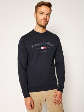 TOMMY HILFIGER TOMMY HILFIGER Μπλούζα Arch Artwork MW0MW15263 Σκούρο μπλε Regular Fit