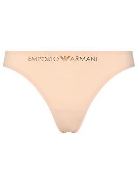 Emporio Armani Underwear Emporio Armani Underwear Stringové nohavičky 162468 1P284 00071 Béžová