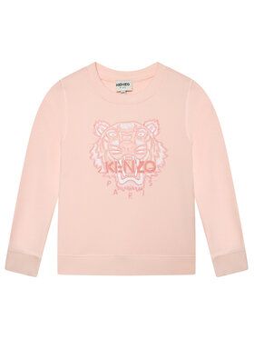 Kenzo Kids Kenzo Kids Суитшърт K15072 S Розов Regular Fit