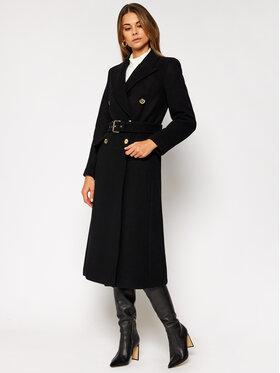 MICHAEL Michael Kors MICHAEL Michael Kors Płaszcz wełniany MF02J6ZF8P Czarny Regular Fit