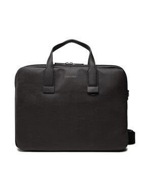 Calvin Klein Calvin Klein Torba na laptopa Warmth Laptop Bag K50K507246 Brązowy