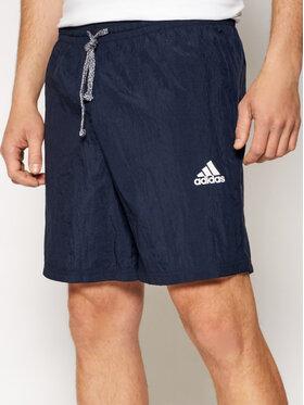 adidas adidas Sportske kratke hlače M Favs Q2 Sho GK9595 Tamnoplava Regular Fit