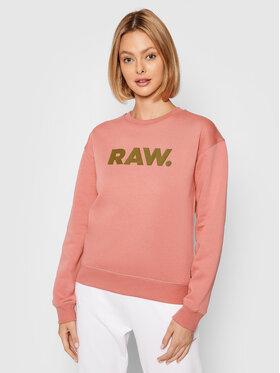 G-Star Raw G-Star Raw Bluza Premium Core D20759-C235-3479 Różowy Regular Fit
