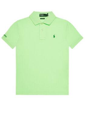 Polo Ralph Lauren Polo Ralph Lauren Polo marškinėliai The Earth 323780773 Žalia Regular Fit