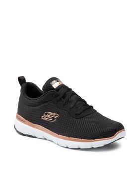 Skechers Skechers Pantofi Flex Appeal 3.0 13070/BKRG Negru