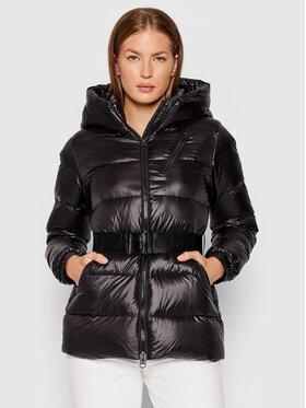 Calvin Klein Calvin Klein Kurtka puchowa Belted K20K203054 Czarny Regular Fit