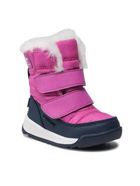 Sorel Sorel Śniegowce Toddler Whitney II Strap Wp NV3875 Różowy