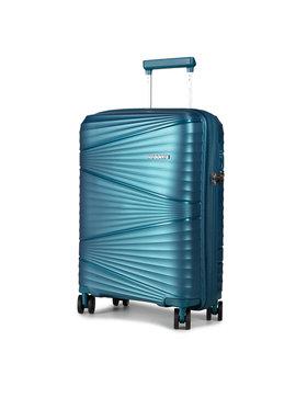Puccini Puccini Kis kemény borítású bőrönd Victoria PP019C 7 Kék