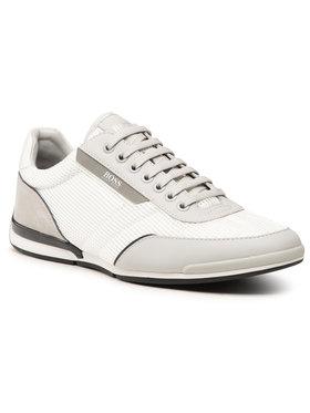 Boss Boss Sneakersy Saturn 50455313 10236286 01 Biały