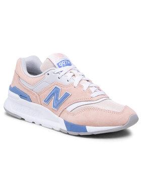 New Balance New Balance Sneakersy CW997HVW Pomarańczowy
