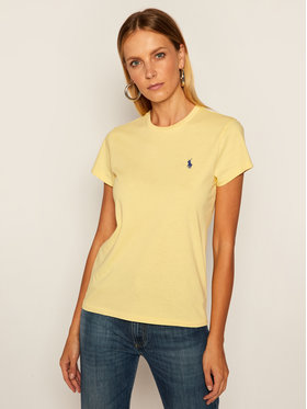 Polo Ralph Lauren Polo Ralph Lauren T-Shirt Ssl 211734144034 Gelb Regular Fit