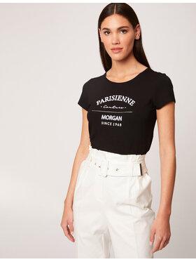 Morgan Morgan T-Shirt 212-DEMOA Schwarz Regular Fit