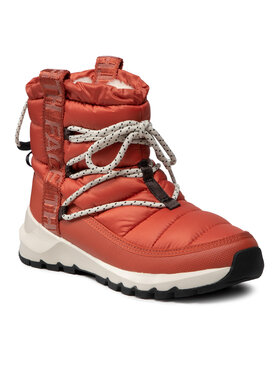 The North Face The North Face Μπότες Χιονιού Thermoball Lace Up NF0A4AZGT971 Πορτοκαλί